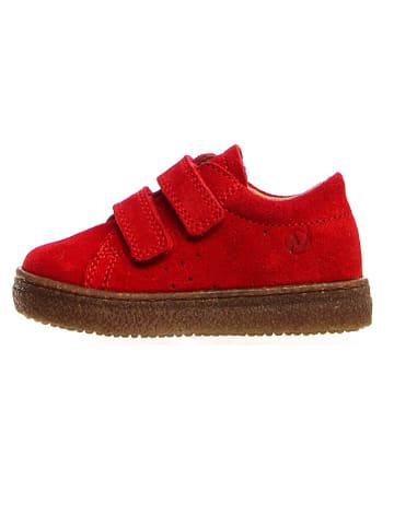 Naturino Leder-Sneakers in Rot
