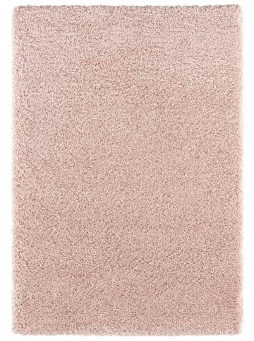 """Elle Decor Hoogpolig tapijt """"Talence"""" lichtroze"""