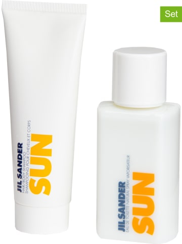 "Jil Sander 2tlg. Set: ""Sun"" - EdT und Haar- & Körpershampoo, je 75 ml"