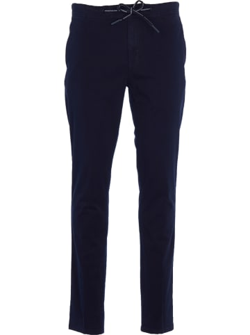 "Marc O'Polo DENIM Chinobroek ""Pontus"" - slim fit - donkerblauw"