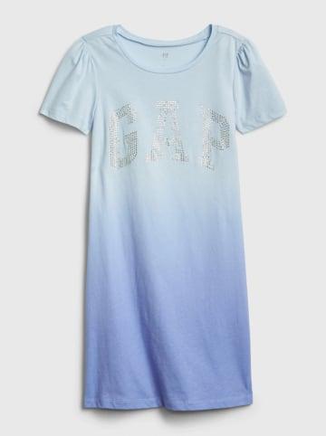 GAP Sukienka w kolorze niebieskim