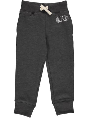 GAP Spodnie dresowe w kolorze antracytowym