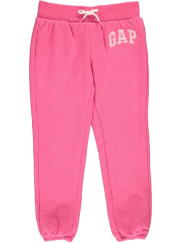 GAP Spodnie dresowe w kolorze różowym