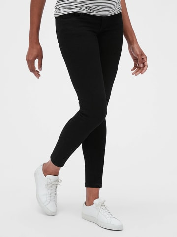 GAP Zwangerschapsspijkerbroek - skinny fit - zwart