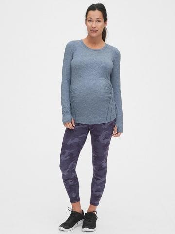 GAP Legginsy ciążowe w kolorze fioletowym