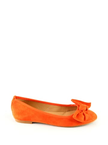 Sixth Sens Ballerinas in Orange
