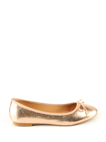 Sixth Sens Ballerina's champagnekleurig