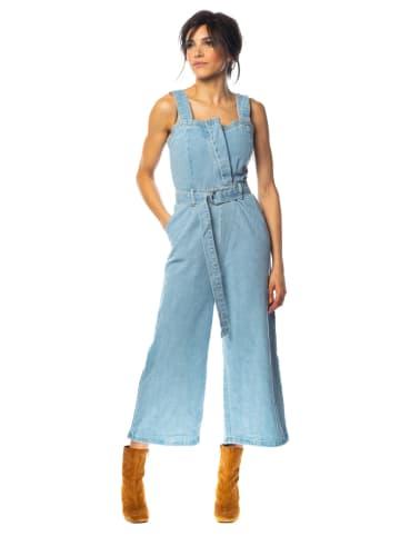 """100% Jeans Spijkerjumpsuit """"Maya"""" lichtblauw"""