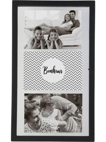 THE HOME DECO FACTORY Ramka w kolorze czarnym na zdjęcia - 22 x 37 cm
