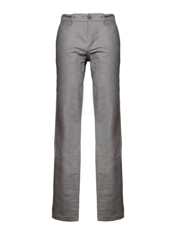 Mexx Spodnie w kolorze szarym