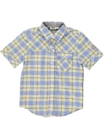 Mexx Shirt blauw/geel
