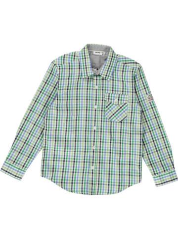 Mexx Koszula w kolorze niebiesko-zielonym