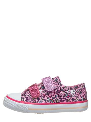 Billowy Sneakersy w kolorze jasnoróżowym ze wzorem