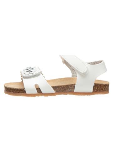 Billowy Sandały w kolorze białym