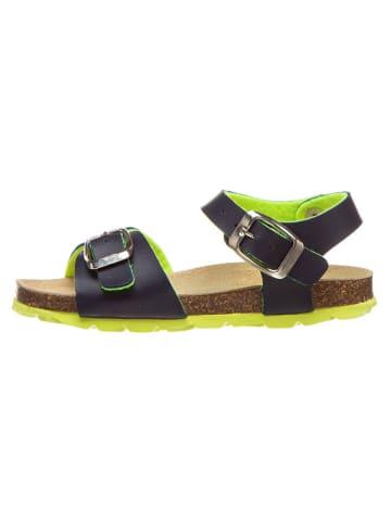 Billowy Sandalen donkerblauw/groen