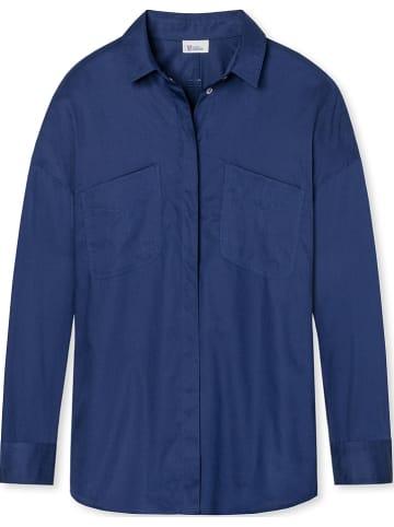 """Schiesser Revival Bluzka """"Margarete"""" w kolorze niebieskim"""