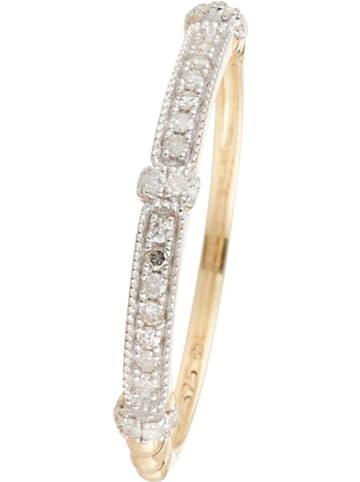 """DIAMOND & CO Gold-Ring """"Kota"""" mit Diamanten"""