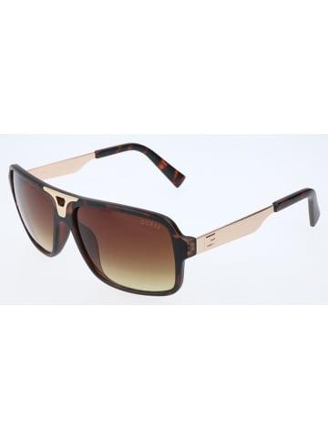 Guess Herren-Sonnenbrille in Braun-Gold