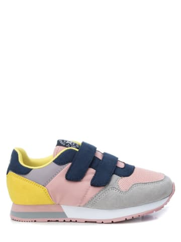 XTI Kids Sneakers in Rosa/ Grau