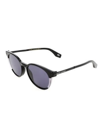 Marc Jacobs Damen-Sonnenbrille in Schwarz/ Grau