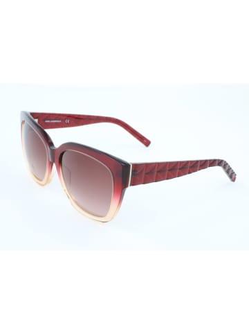 Karl Lagerfeld Dameszonnebril rood