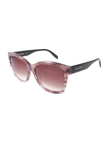 Karl Lagerfeld Dameszonnebril lichtroze-zwart/roze
