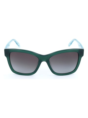 Karl Lagerfeld Dameszonnebril groen-lichtblauw/grijs