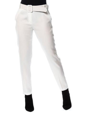 """Scarlet Jones Spodnie """"Gloris"""" w kolorze białym"""