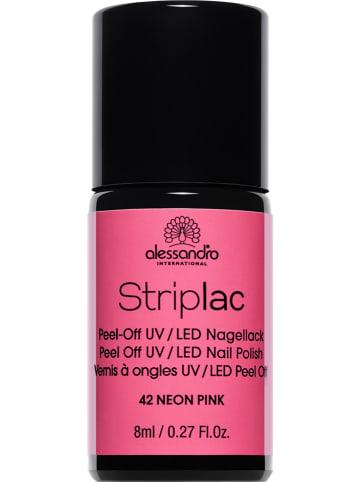 "Alessandro Lakier UV ""Striplac - 42 Neon Pink"" - 8 ml"