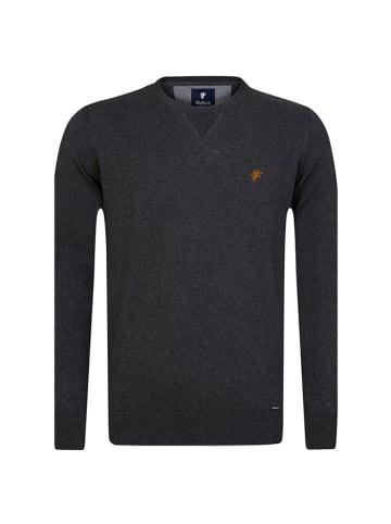 CULTURE Sweter w kolorze antracytowym
