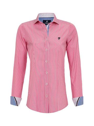 CULTURE Koszula w kolorze biało-różowym