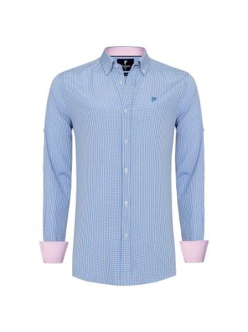 CULTURE Koszula w kolorze niebiesko-białym