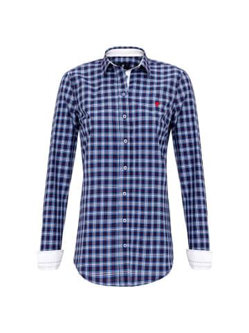CULTURE Koszula w kolorze niebiesko-czerwonym