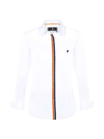Denim Culture Koszula w kolorze białym