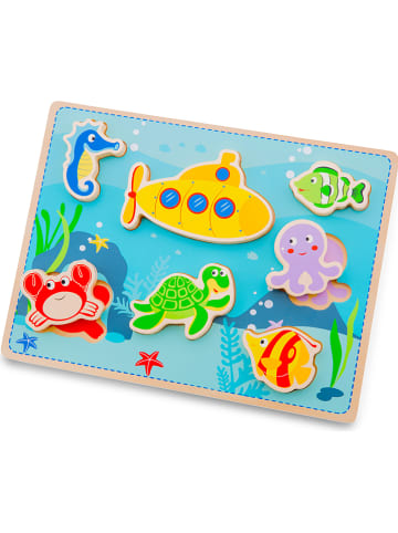 "New Classic Toys 7tlg. Steckpuzzle ""Chunky Sea"" - ab 2 Jahren"