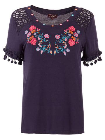 Coline Shirt donkerblauw