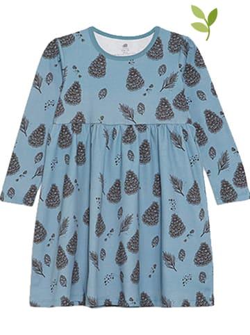 Walkiddy Kleid in Blau/ Schwarz