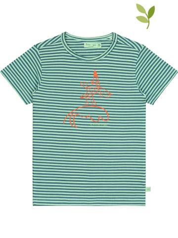 Smitten Organic Shirt in Türkis