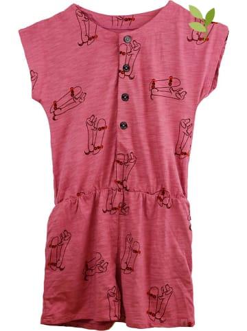 Smitten Organic Jumpsuit in Pink