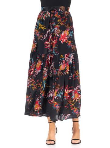 Tantra Spódnica w kolorze czarnym ze wzorem