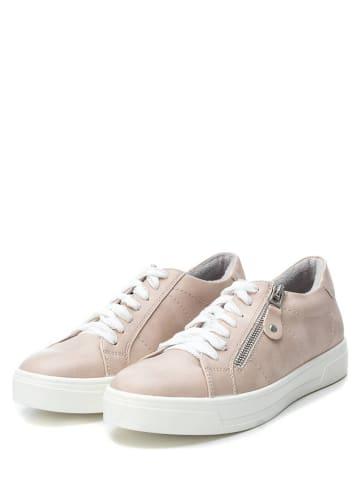 Xti Sneakersy w kolorze beżowym
