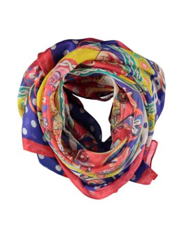 Made in Silk Jedwabny szal ze wzorem - (D)180 x (S)90 cm