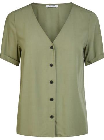 "Pieces Shirt ""Cecilie"" kaki"