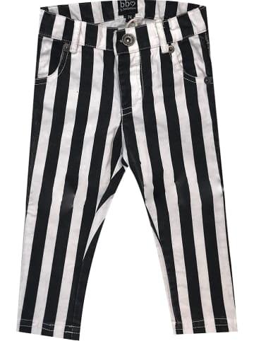 Beebielove Hose in Schwarz/ Weiß