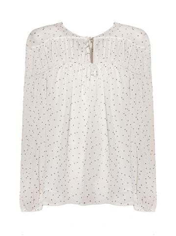 Tova Bluzka w kolorze białym ze wzorem