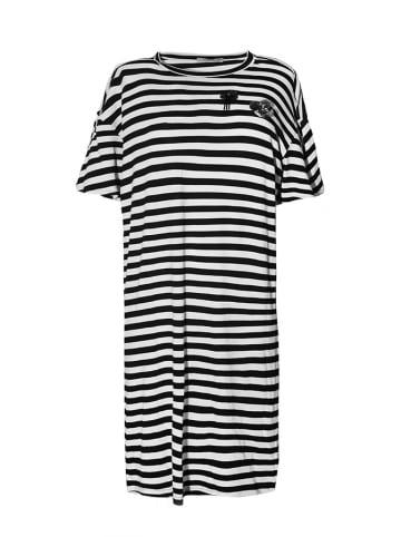 Tova Sukienka w kolorze biało-czarnym