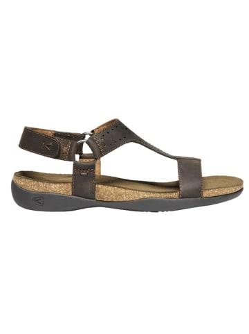 "Keen Leren sandalen ""Kaci-Ana"" bruin"