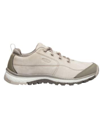 """Keen Leren sneakers """"Terradora"""" beige"""