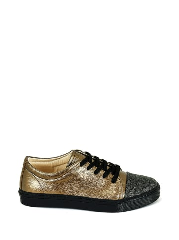 Noosy Sneakers in Schwarz/ Gold