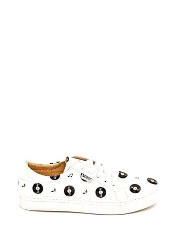 Noosy Sneakers wit/zwart